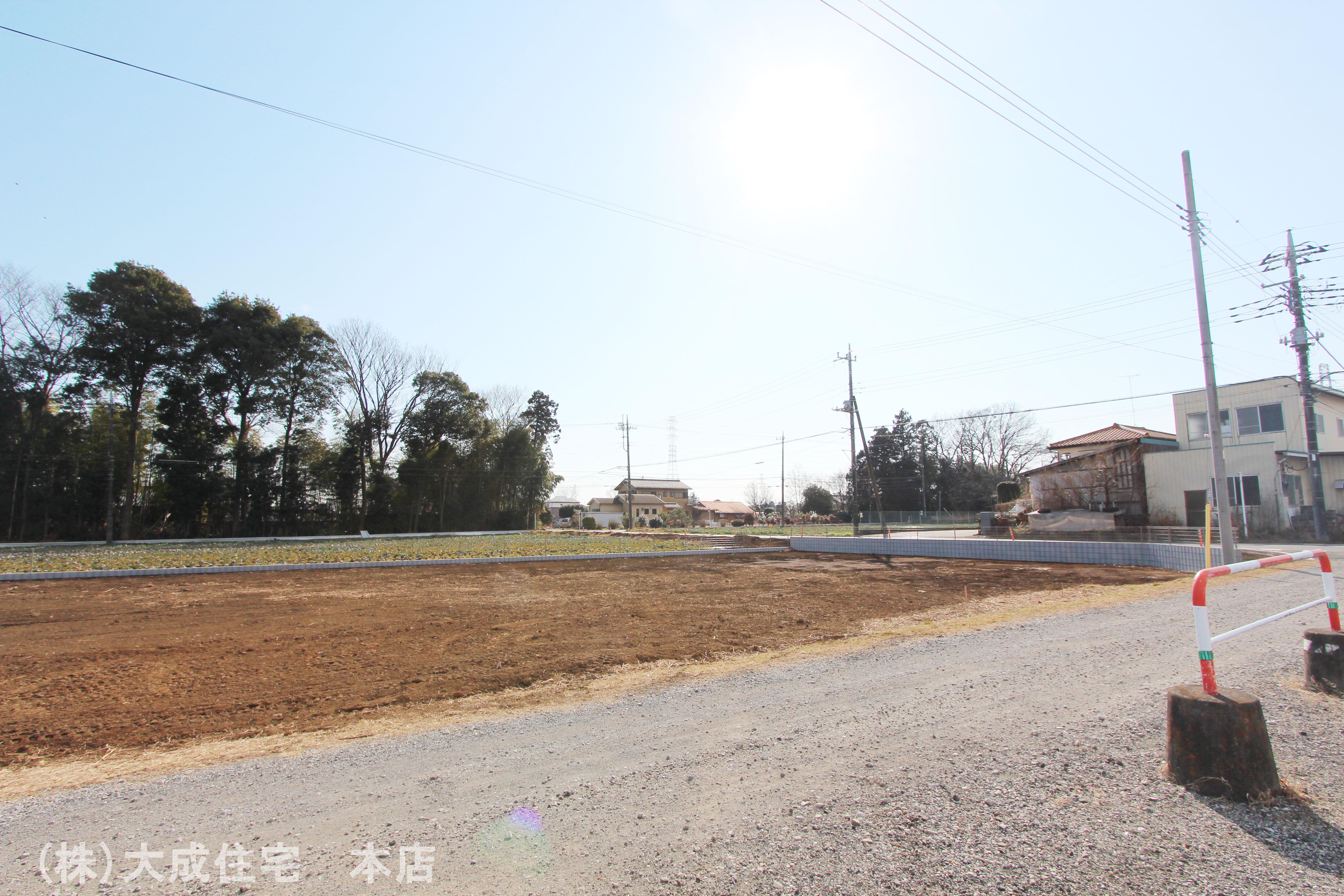 前面道路含む現地写真-現地写真2021年2月撮影 前面道路
