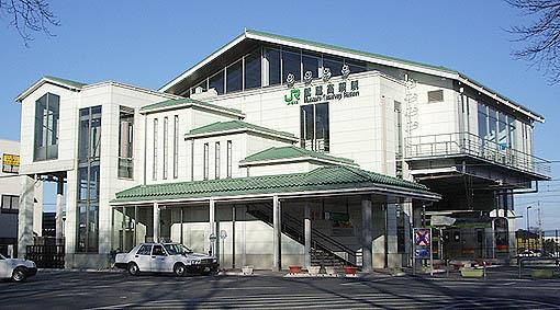 駅(2560m)-武蔵高萩駅(飲食店充実しております。)